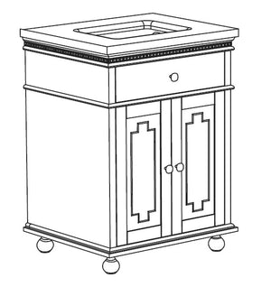 Carol Collection timber vanity