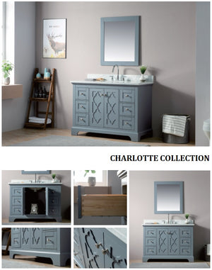 Charlotte Collection timber vanity