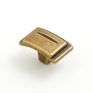 Chisel 38mm Rectangular Knob (various finishes)