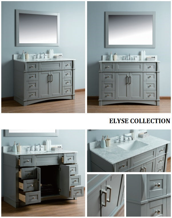 Elyse Collection timber vanity