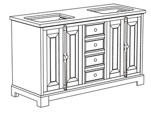 Evelyn Collection timber vanity
