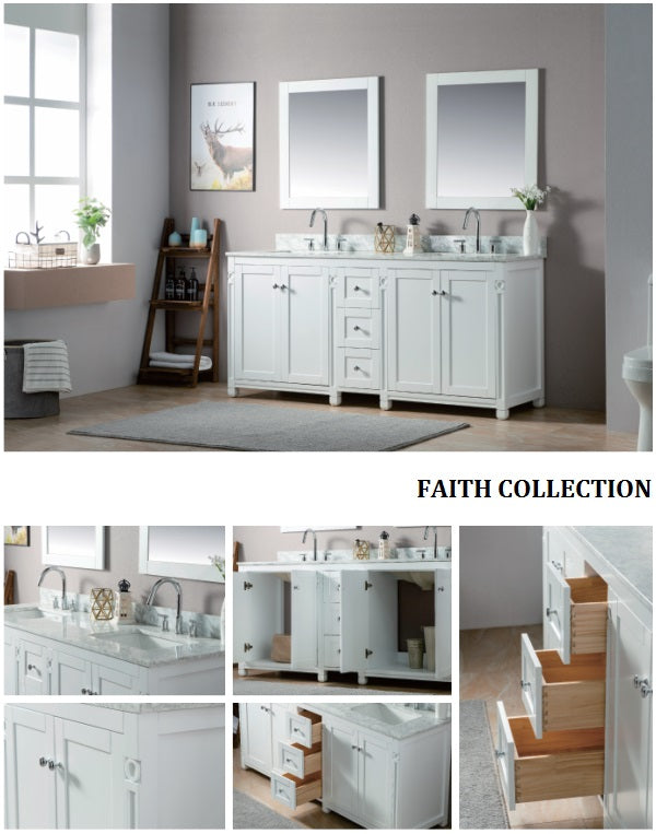 Faith Collection timber vanity