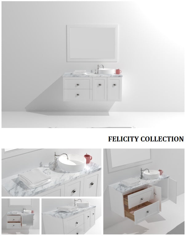 Felicity Collection timber vanity