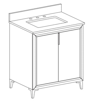 Fiona Collection timber vanity
