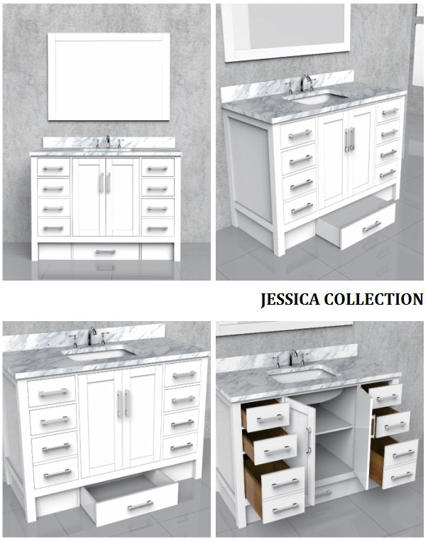 Jessica Collection timber vanity
