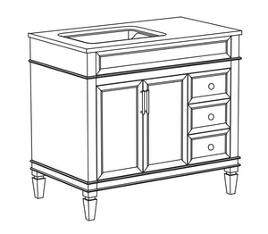 Judy Collection timber vanity