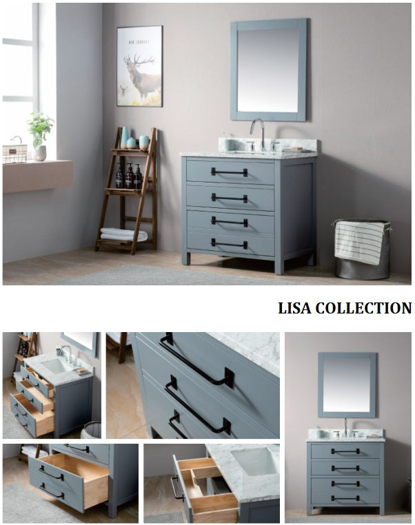 Lisa Collection timber vanity