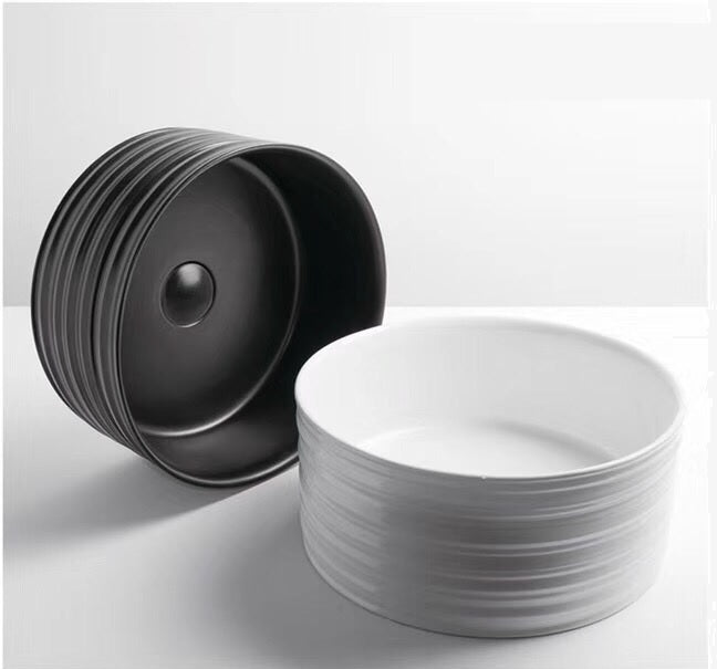 DUBLIN 400mm Round Textured Ceramic Basin