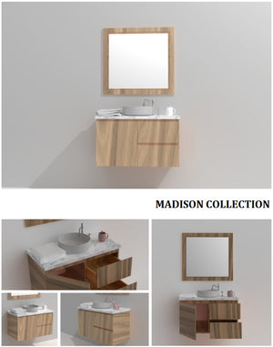 Madison Collection timber vanity