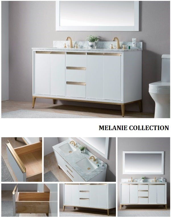 Melanie Collection timber vanity