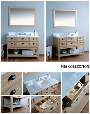 Mia Collection timber vanity