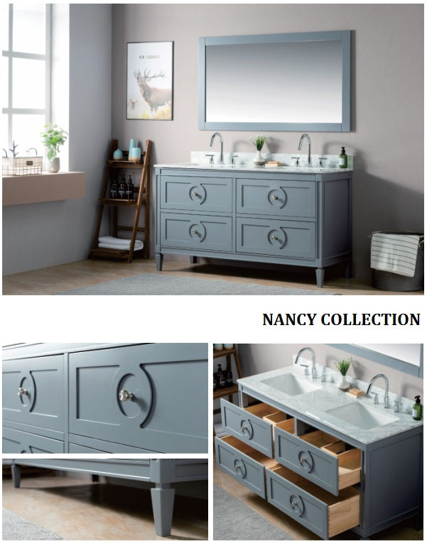Nancy Collection timber vanity