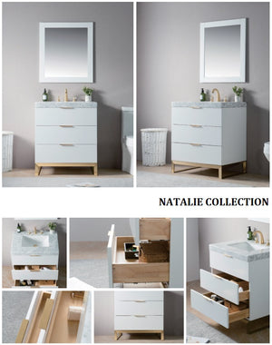 Natalie Collection timber vanity