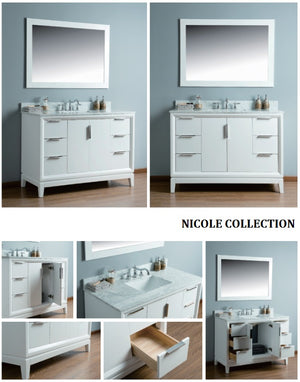 Nicole Collection timber vanity