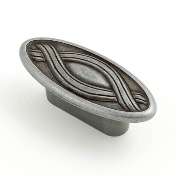 Nouveau 32mm Oval Knob (various finishes)
