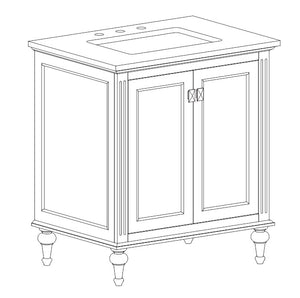 Polly Collection timber vanity