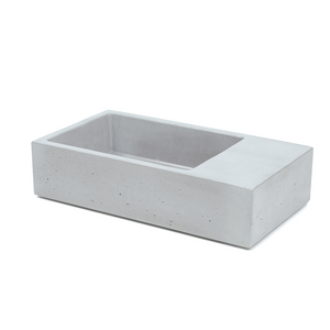 Powder Room Petite 435mm Concrete Basin - Assorted Colours