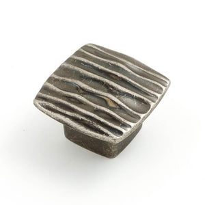 Ripple 42mm Square Knob (various finishes)