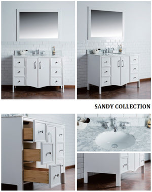Sandy Collection timber vanity