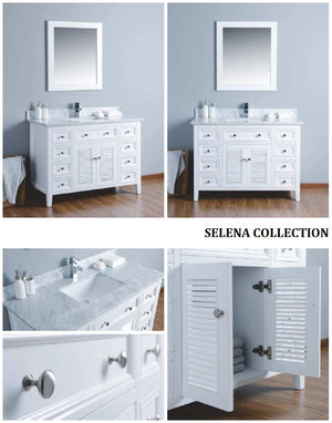 Selena Collection timber vanity