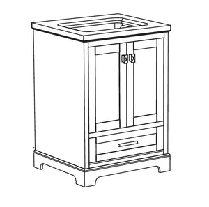 Shannon Collection timber vanity