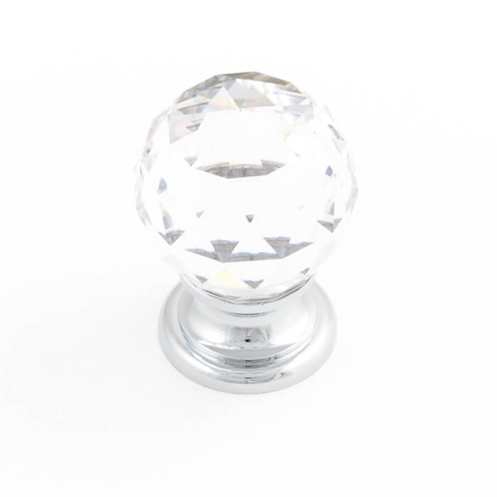 Sovereign 30mm Facet Round Knob (various finishes)