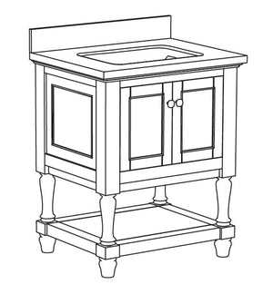 Sydney Collection timber vanity