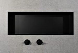 Metallico Shower Niche - Matte Black (various sizes)