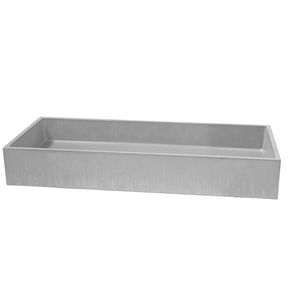 Trough 800mm Concrete Basin - Assorted Colours