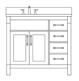 Wendy Collection timber vanity