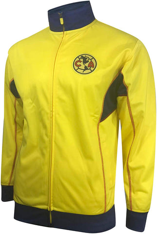 Club America 2020 Track Jacket - Gold / Blue