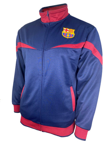 FC Barcelona FCB Track Training Jacket Barca Logo Blue