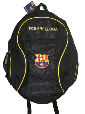 FCB Barca Barcelona School Soccer Ball Backpack Bag