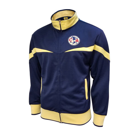 Club America 2020 Track Jacket Aguilas Mexico Soccer Blue