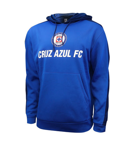 Cruz Azul Hoodie Pullover Sweatshirt Side Step Soccer Mexico Mens