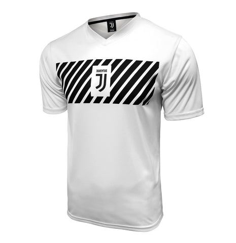 Juventus 2020 Logo Training Jersey Shirt Top Ronaldo White Black
