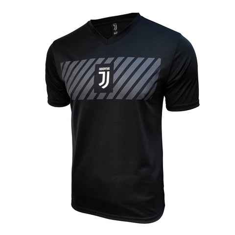 Juventus 2020 Pre Match Training Jersey Shirt Ronaldo Black Silver