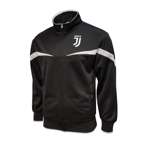 Juventus 2020 Mens Full Zip Up Track Training Jacket Black