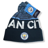 Manchester City FC Soccer Football Beanie Blue 2020 Hat Cap Winter England