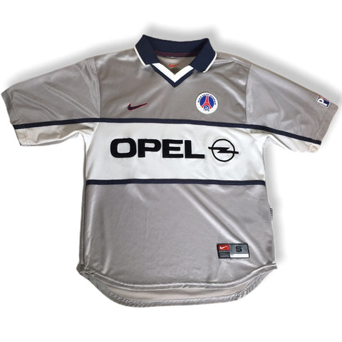 PSG Paris Saint Germain Nike Opal Retro Football Soccer Jersey Shirt Rare Authentic