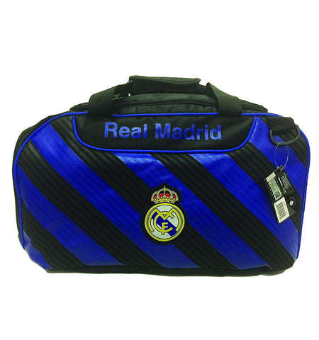 Real Madrid Soccer Duffle Equipment Gym Bag