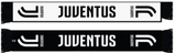 Juventus Reversible WInter Scarf Black White