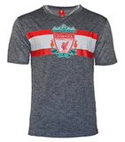 Liverpool FC Poly Training Jersey Shirt - Heather Grey