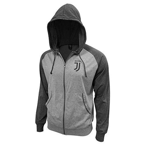 Juventus Full Zip Grey Light Summer Hoodie Jacket