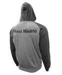 Real Madrid Full Zip Lightweight Hoodie Jacket