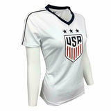USA SOCCER USWNT Women's World Cup Polymesh Stadium Jersey - White
