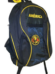 Club America School Backpack w/ Soccer Ball Compartment