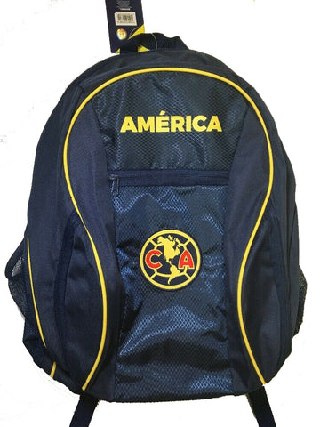 Club America School Backpack Soccer Ball Bag