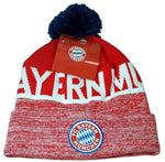Bayern Munich Winter Pom Beanie Cap