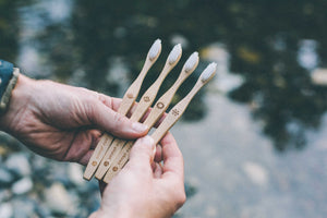 Bamboo Toothbrush Four Pack